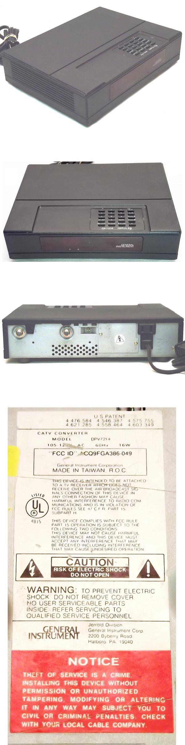 UHF interference on old TV - UK Vintage Radio Repair and
